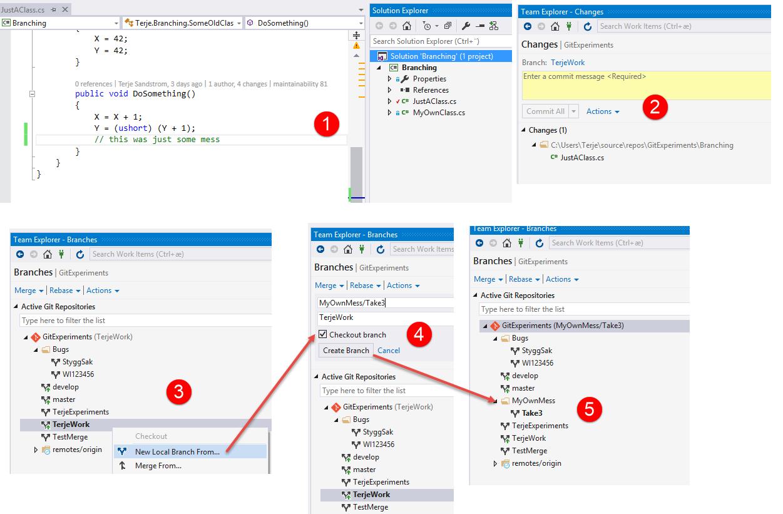 Cleaning up with Git – Terje Sandstrøm – Visual Studio ALM MVP